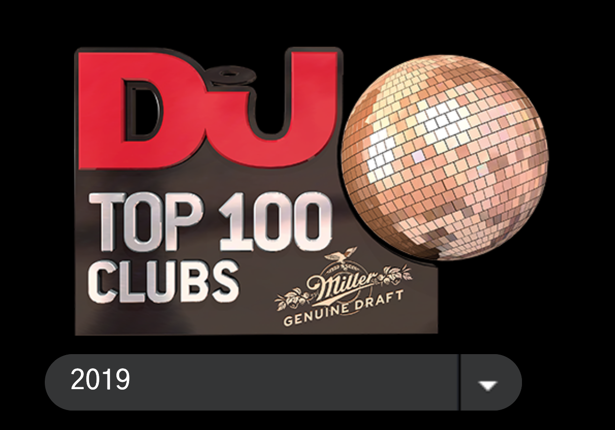 DJMagTop100Clubs2019