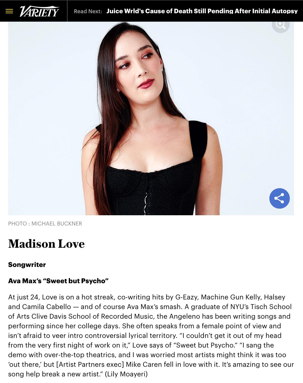 2019:12:5:MadisonLoveVariety